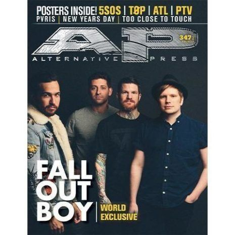 ALTERNATIVE PRESS Fall Out Boy 347.1 Magazine
