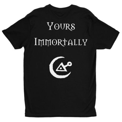 CRADLE OF FILTH Yours Immortally Tshirt Back