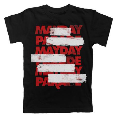 MAYDAY PARADE Black Lines T-shirt