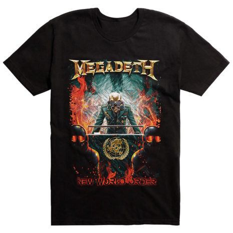 MEGADETH New World Order Tshirt
