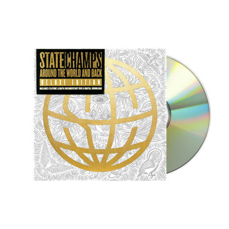 STATE CHAMPS Around The World & Back Deluxe CD