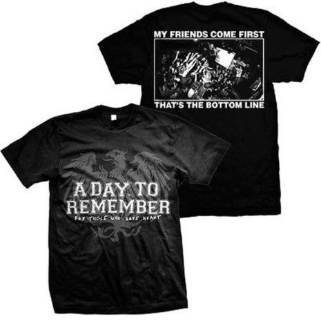 A DAY TO REMEMBER Friends Tshirt