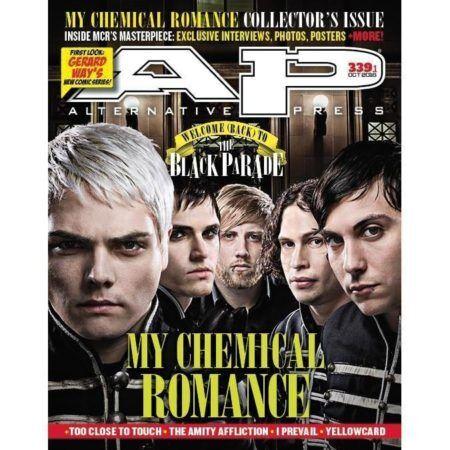 ALTERNATIVE PRESS 339.1 My Chemical Romance Magazine