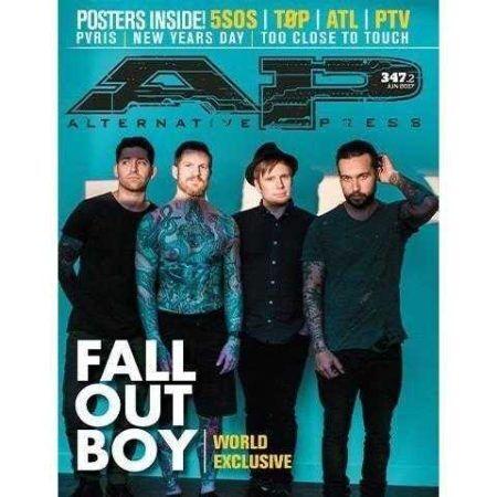 ALTERNATIVE PRESS Fall Out Boy 347.2 Magazine