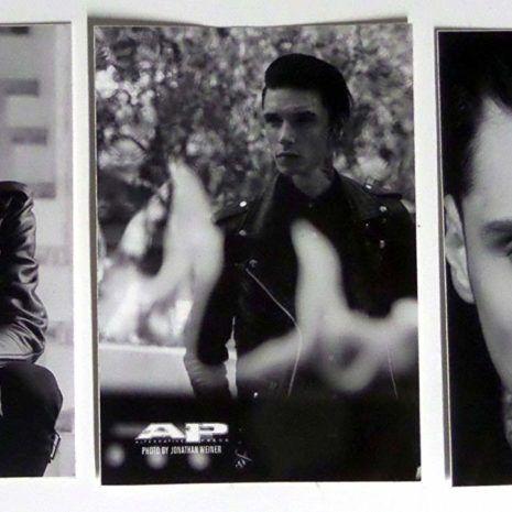 ANDY BLACK Polaroid Sticker Other