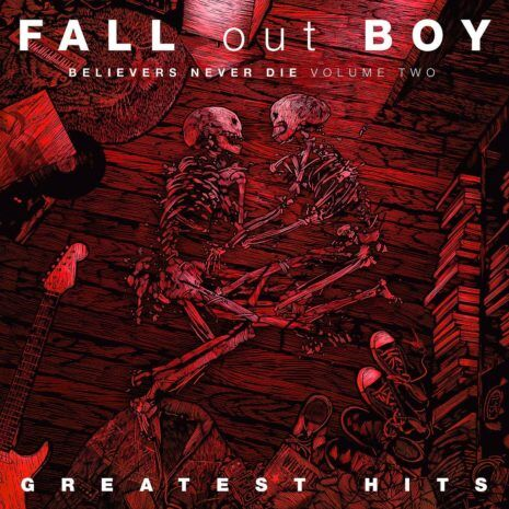FALL OUT BOY Believers Never Die Volume 2 (Case Dent) CD