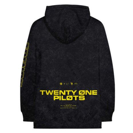 TWENTY ONE PILOTS Double Lines Logo Hoodie Back