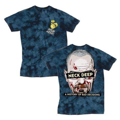 NECK DEEP Bad decisions tie dye