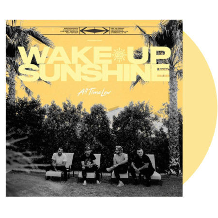 ALL TIME LOW Wake Up Sunshine Vinyl LP Custard White