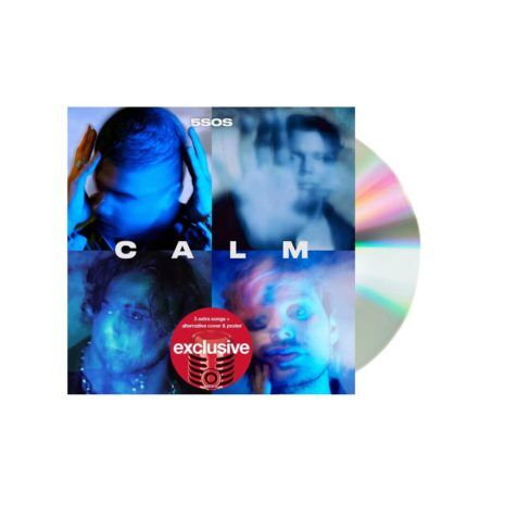 5 Seconds of summer calm target cd