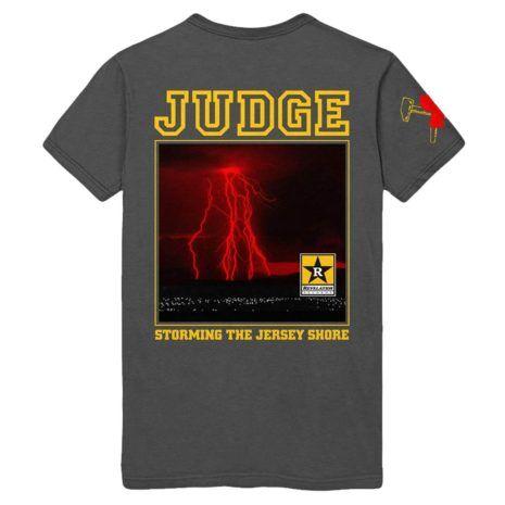 Judge Jersey Storm Tshirt Back