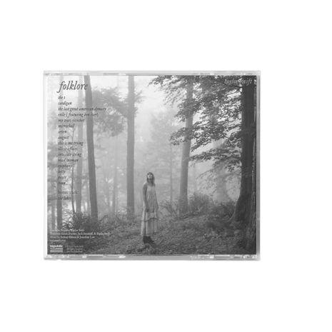 Taylor Swift Folklore Clandestine Meetings Back CD