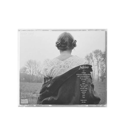 Taylor Swift Folklore In The Trees Back CD
