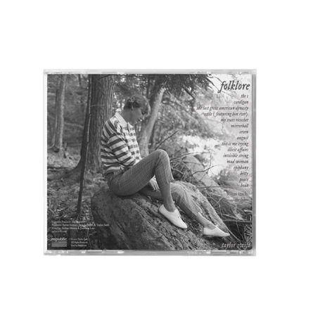 Taylor Swift Folklore Meet Me Behind The Mall Back CD