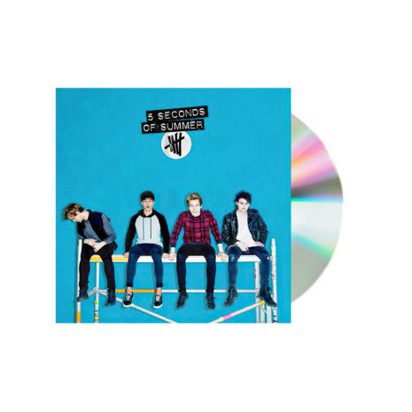 5 Seconds of summer self titled blue cd