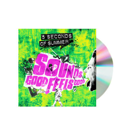 5 Seconds of summer sounds good feels good green cd