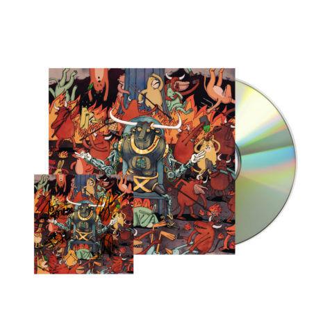DANCE GAVIN DANCE Afterburner Signed CD