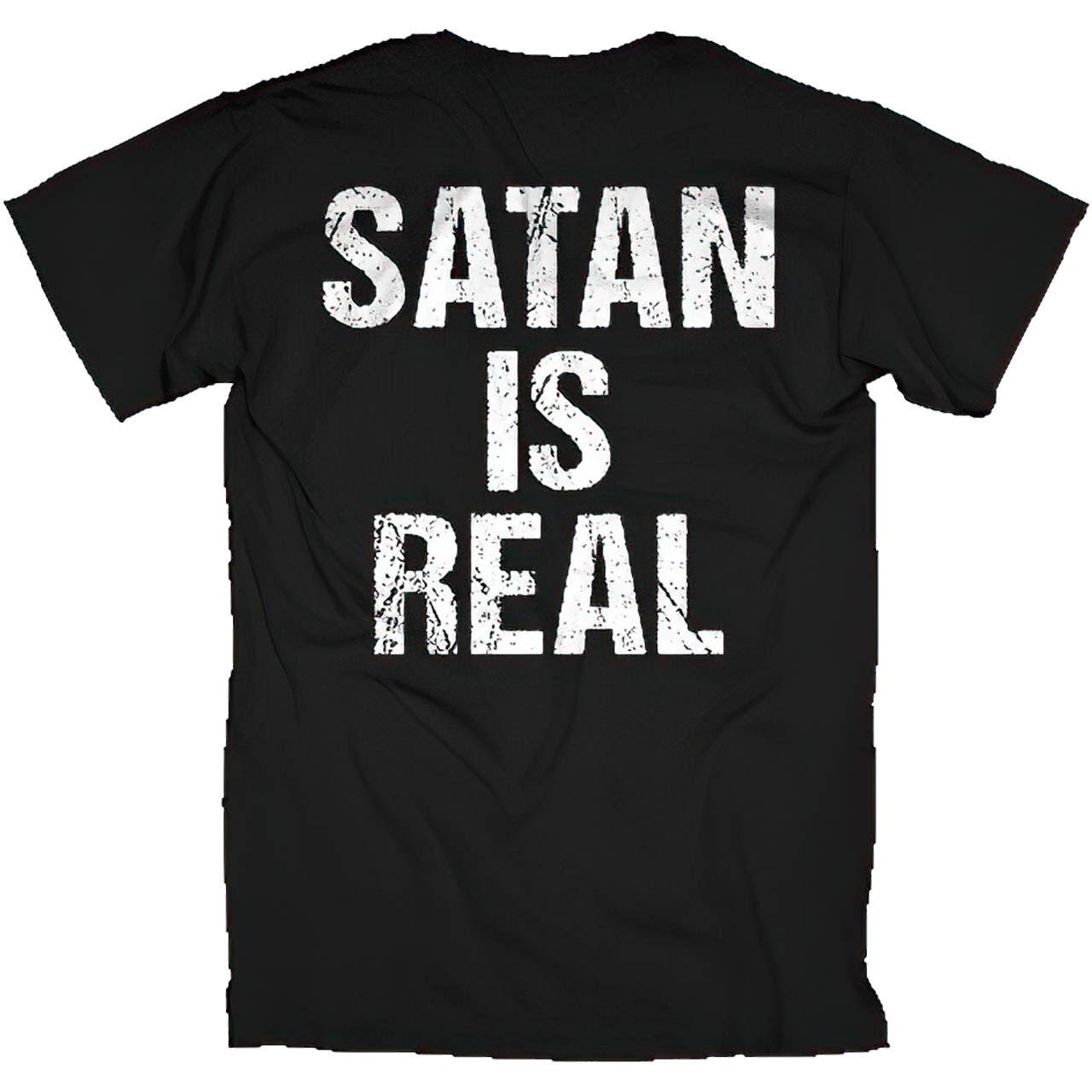 Kreator Satan Is Real Back Tshirt