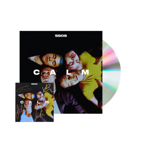 5 Seconds of summer calm signed cd