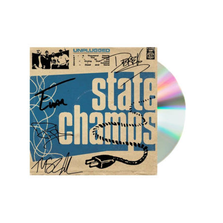 State Champs Unplugged Signed CD