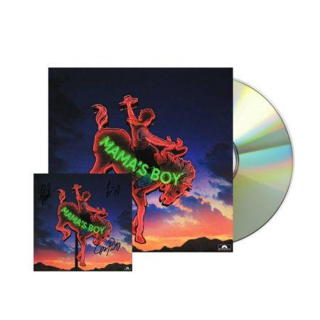 Lany Mamas Boy Signed CD