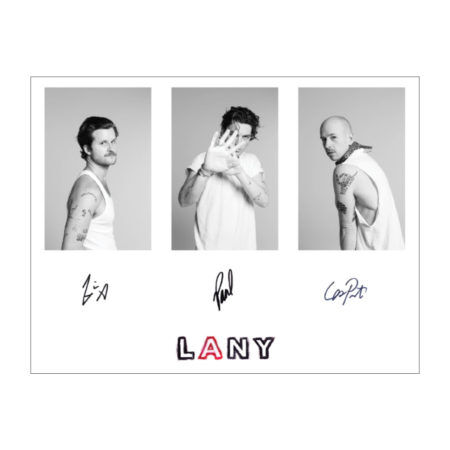 Lany Mama's Boy Signed Poster