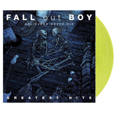 Fall Out Boy Believers Never Die - Greatest Hits Volume 1 Vinyl