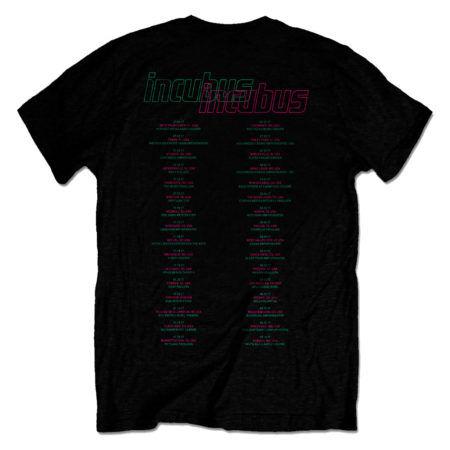 INCUBUS 17 Tour Tshirt Back
