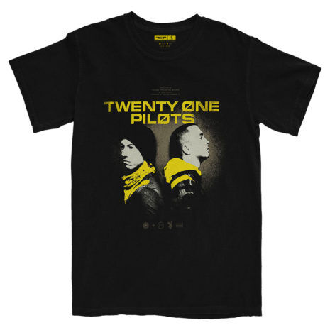 Twenty One Pilots Back To Back Tshirt
