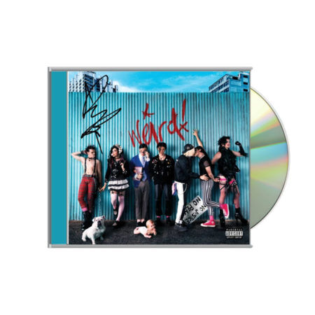 Yungblud SIgned CD