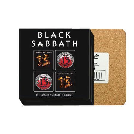 BLACK SABBATH 13 Albums Coaster Set