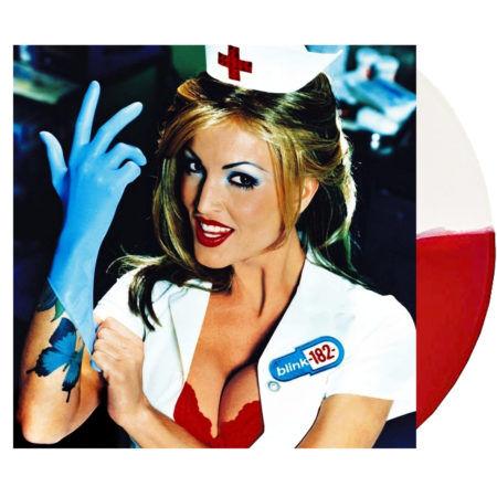 BLINK 182 Enema Of The State White Red Vinyl