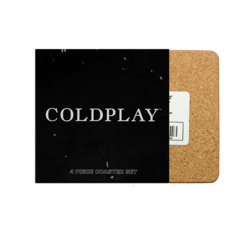 COLDPLAY Albums Coaster Set