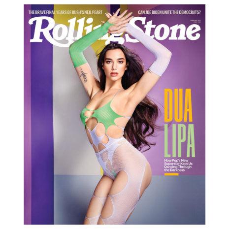 DUA LIPA Rolling Stones February 2021 Magazine