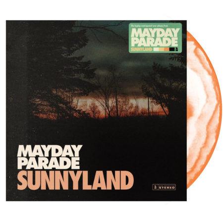 MAYDAY PARADE Sunnyland Vinyl Orange Swirl