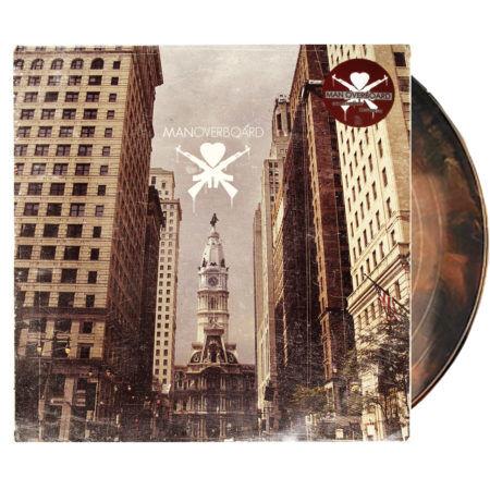 Manoverboard Selftitled Brown Vinyl