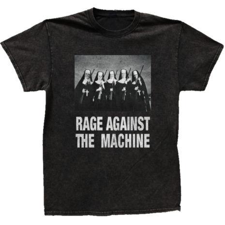 RAGE AGAINST THE MACHINE Nuns with Guns Tshirt