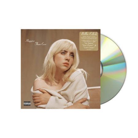 Billie Eilish Happier Than Ever Photobook CD