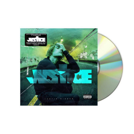 JUSTIN BIEBER Justice Standard CD