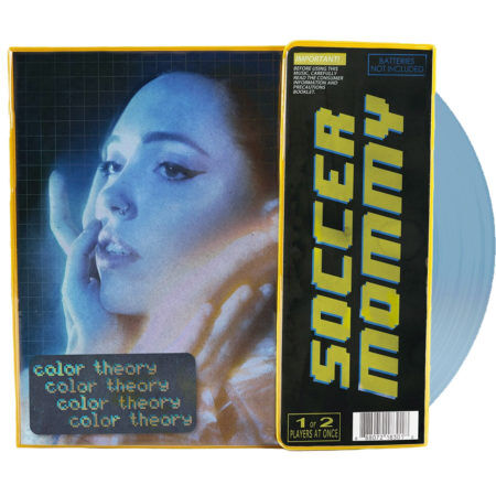Soccer Mommy Color Theory Vinyl Deluxe Binder Edition Front