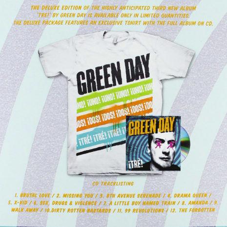 Green Day Tre Box set