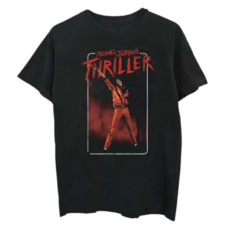 MICHAEL JACKSON Thriller Red Suit Tshirt