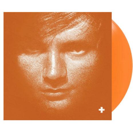 ED SHEERAN Plus '+' Orange Vinyl
