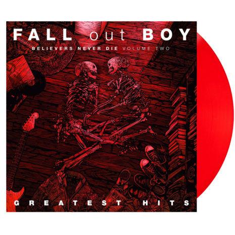 FALL OUT BOY Believers Never Die Vol. 2 Red Vinyl