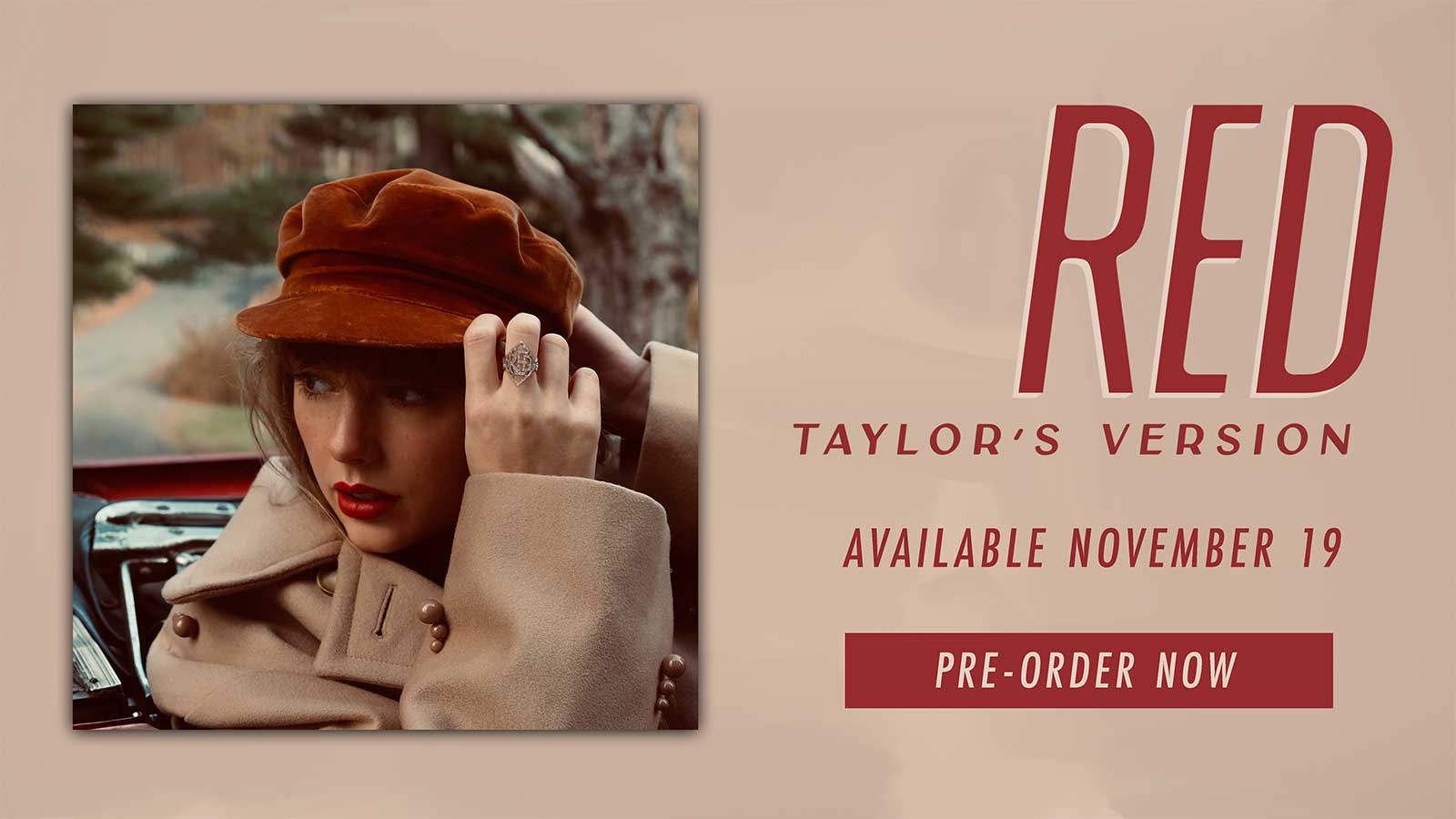 Red Taylor's version cover