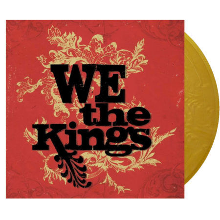 We The Kings Self Titled Gold Vinyl