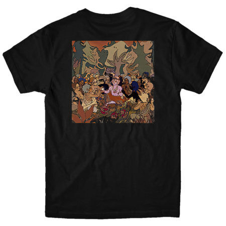BMTH Hex Cover Tshirt Back