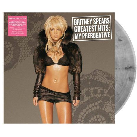 BRITNEY SPEARS Greatest Hits My Prerogative Black Grey UO Vinyl