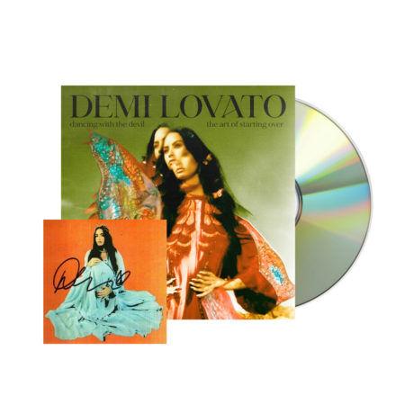 DEMI LOVATO demi lovato the art of starting over Signed standard CD