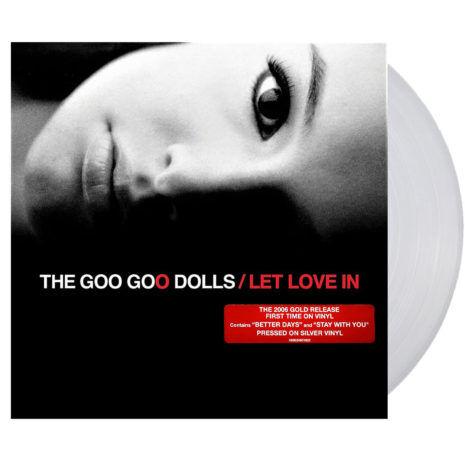 GOO GOO DOLLS Let Love In Silver Vinyl